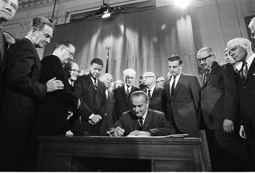 April 11, 1968 – President Johnson Signs the Fair Housing Act
